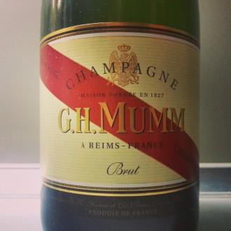Pijemy szampana – G.H. Mumm Cordon Rouge