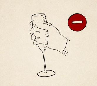 Kieliszki do szampana – 4 rzeczy o tym jak podawać szampana