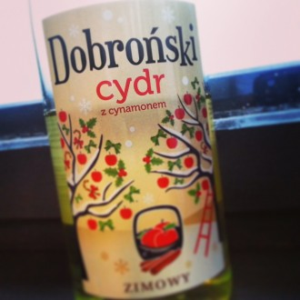 Cydr Dobroński z cynamonem